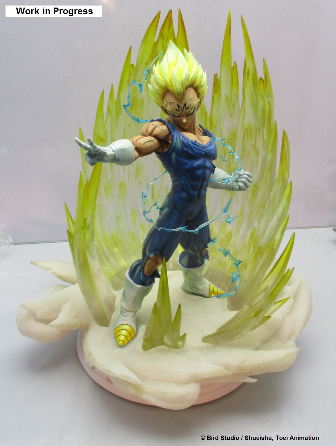 Production Update Majin Vegeta HQS+ By Tsume