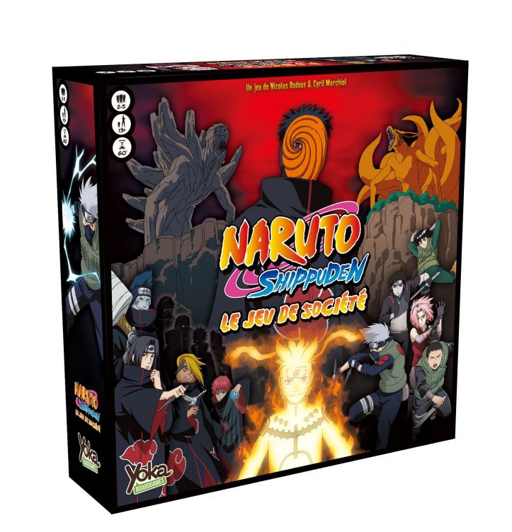Naruto Shippuden The Board Game