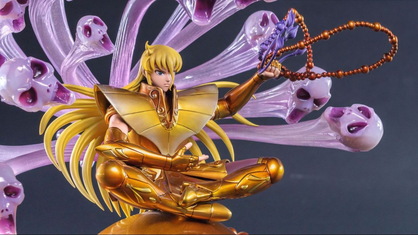 Virgo no Shaka , Tsume Art , Vos statues de collection
