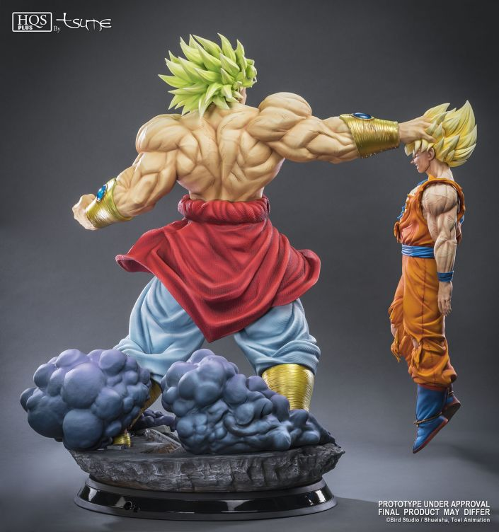Broly - Legendary Super Saiyan HQS+ by TSUME