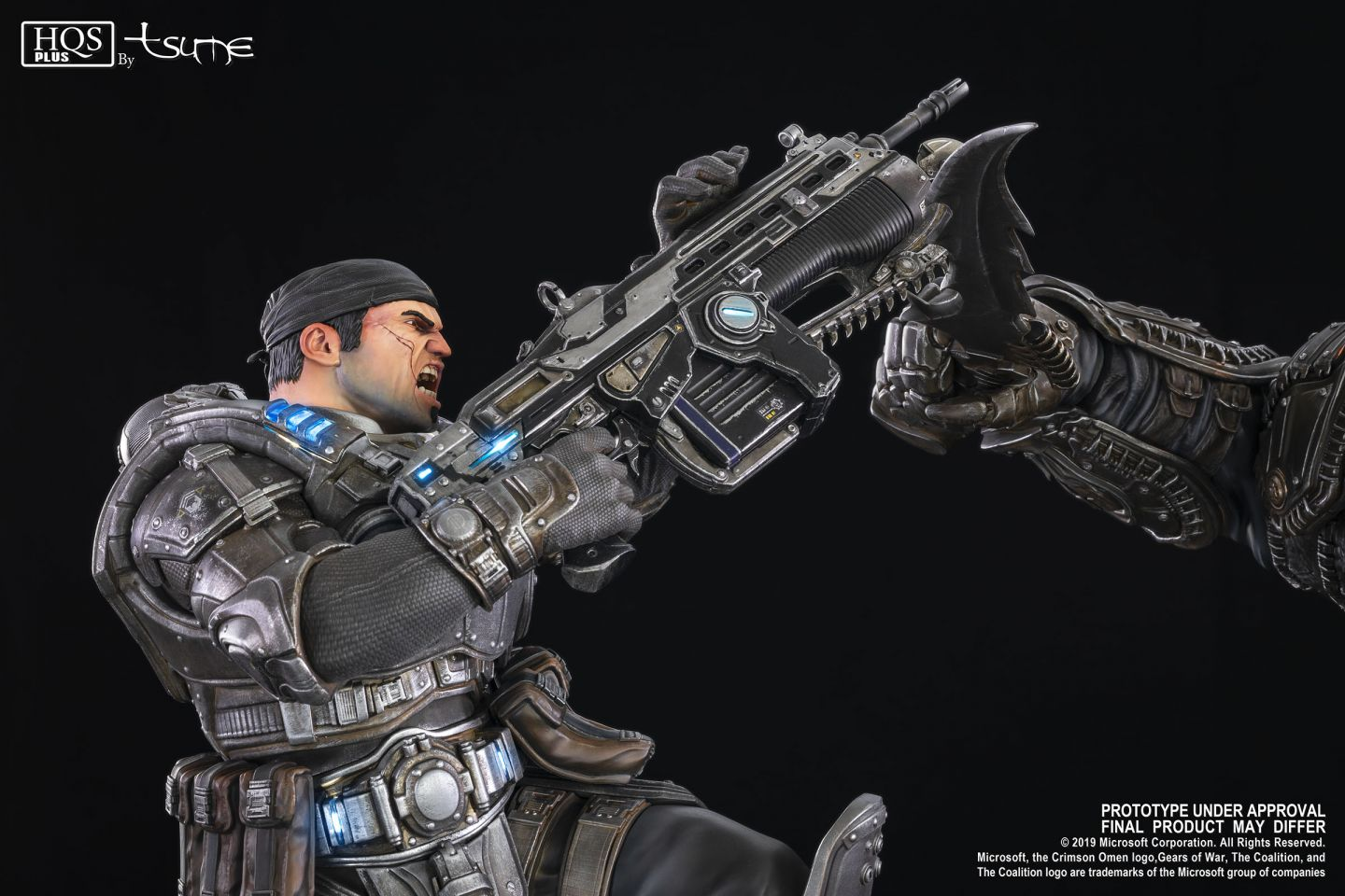 Gears Of War Marcus Vs General Raam Tsume Art Vos