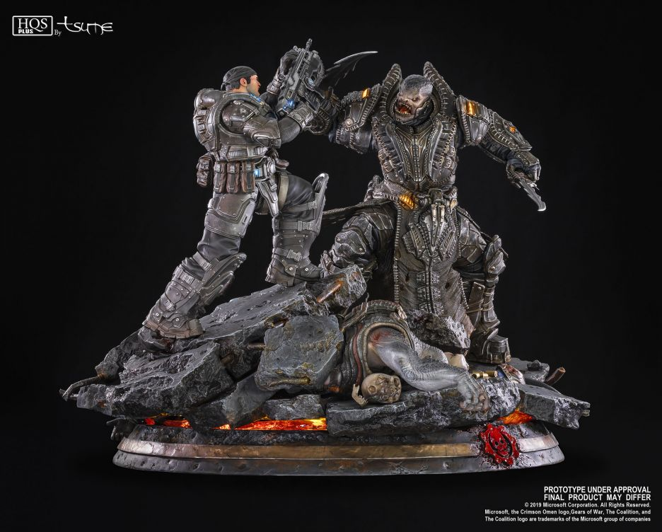 Gears of War: Marcus vs General RAAM