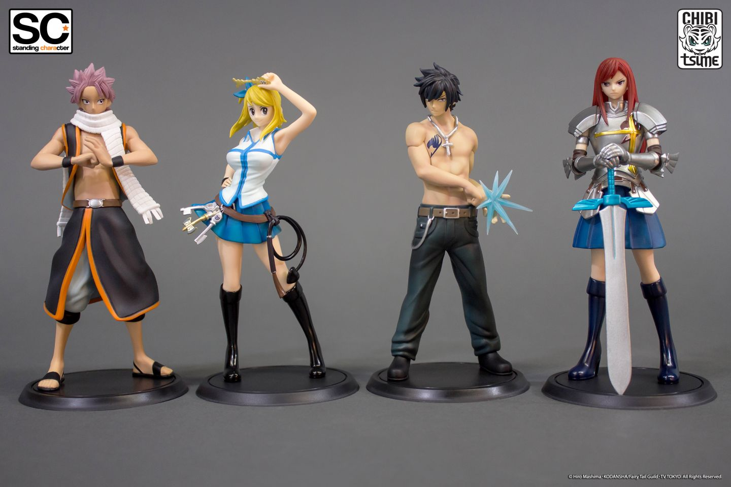 Pack standing characters fairy tail