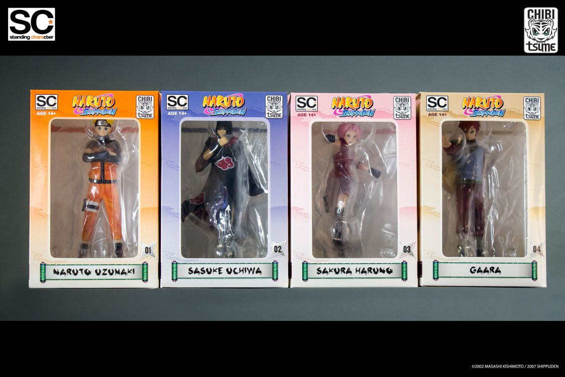 Pack Standing Characters Naruto Shippuden