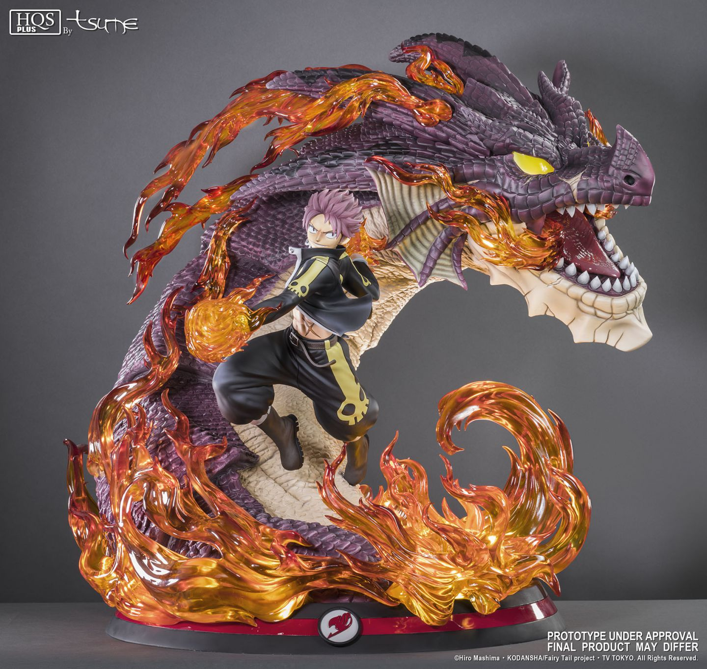 Natsu Dragon Slayer - Tsume Art - Vos statues de collection